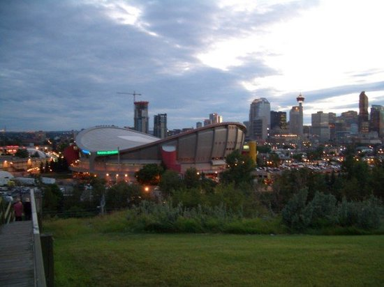 The Scotiabank Saddledome